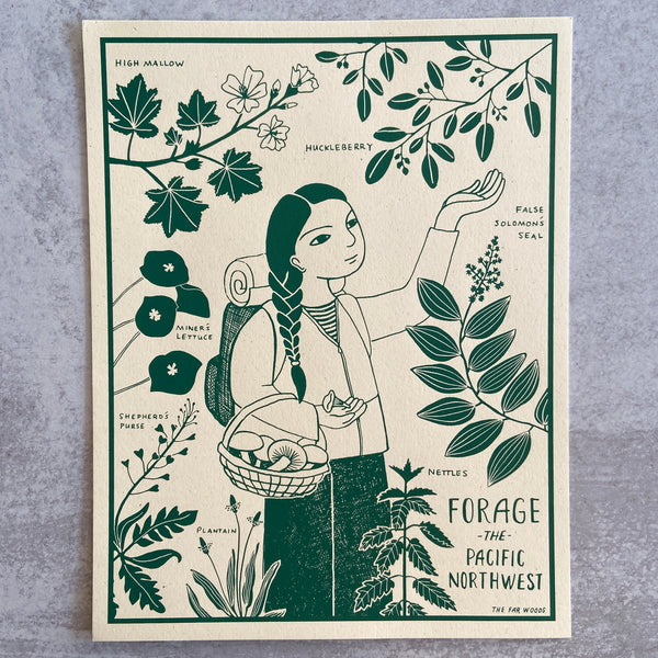 Forage the PNW - Print