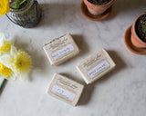 Fig, Wildflower and Woodsmoke Soap - Set of Three