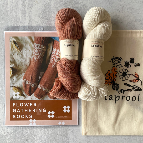 EMERGE Flower Gathering Socks Kit