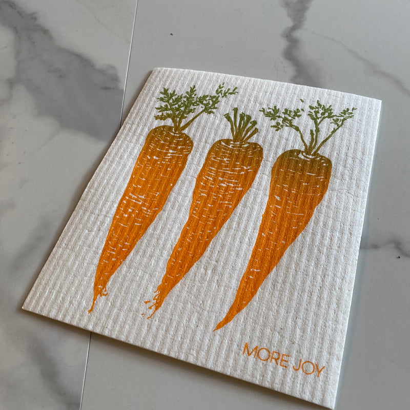 Swedish Dishcloth - Carrots