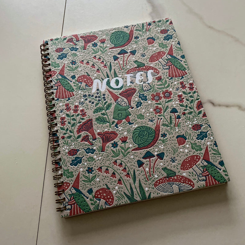 Gnomes Note Book