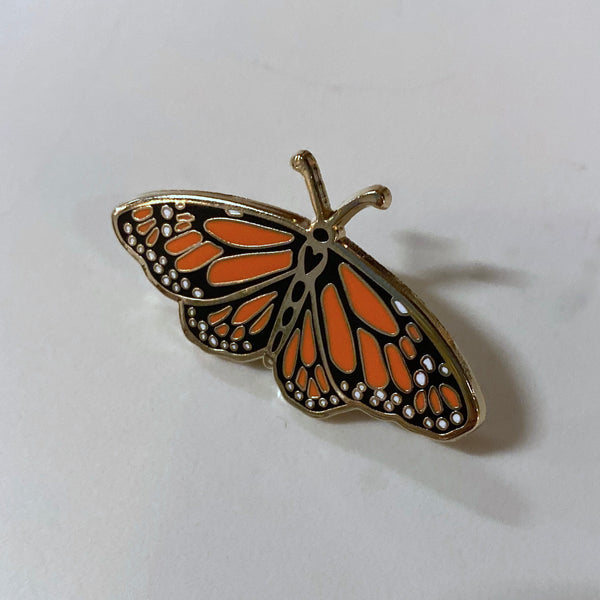 Lapel Pin - Monarch Butterfly