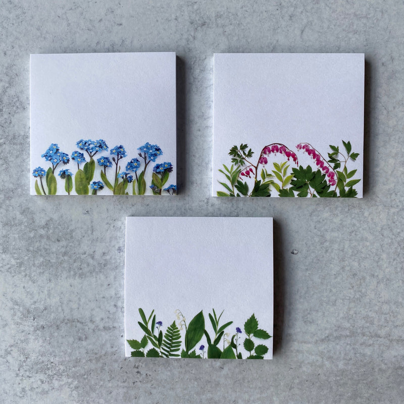Woodland Spring Sticky Note Set