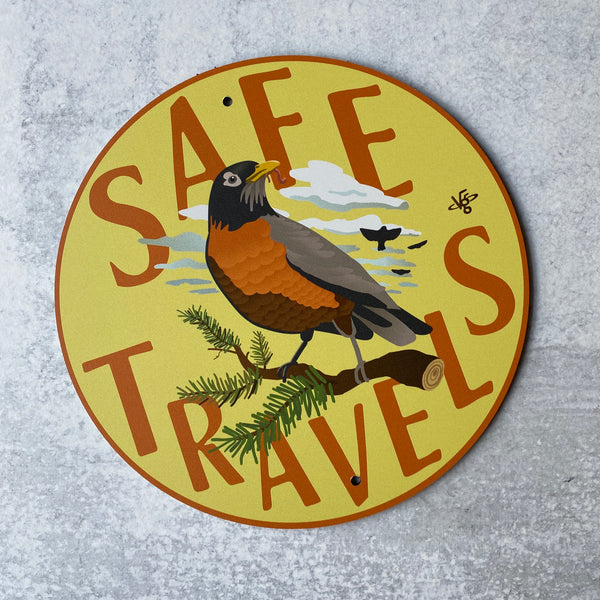 Garden Sign - Safe Travels