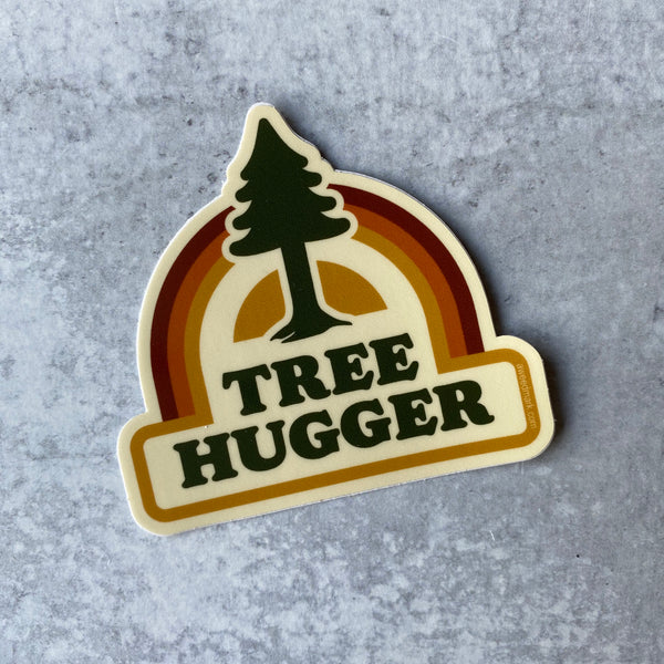 Sticker - Tree Hugger Vinyl