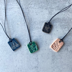 Ceramic Charm Necklace