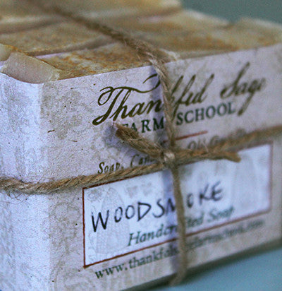 Woodsmoke Soap ~ Set of 3