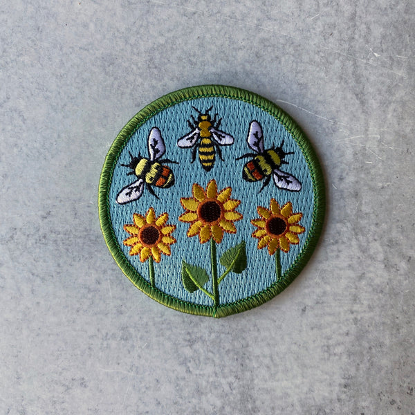 Patch - Bumble & Honey Circle