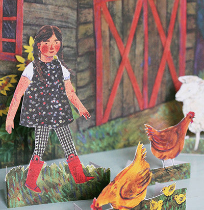 Phoebe Wahl Farm Family Paper Dolls