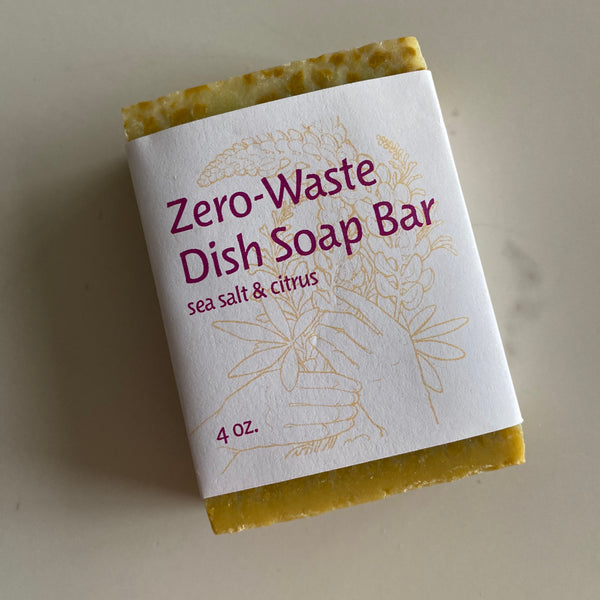 Zero-Waste Dish Soap Bar