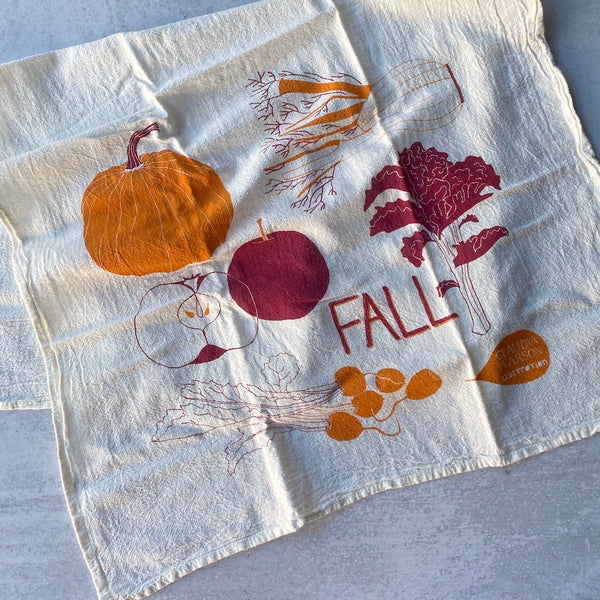 Tea Towel - Fall