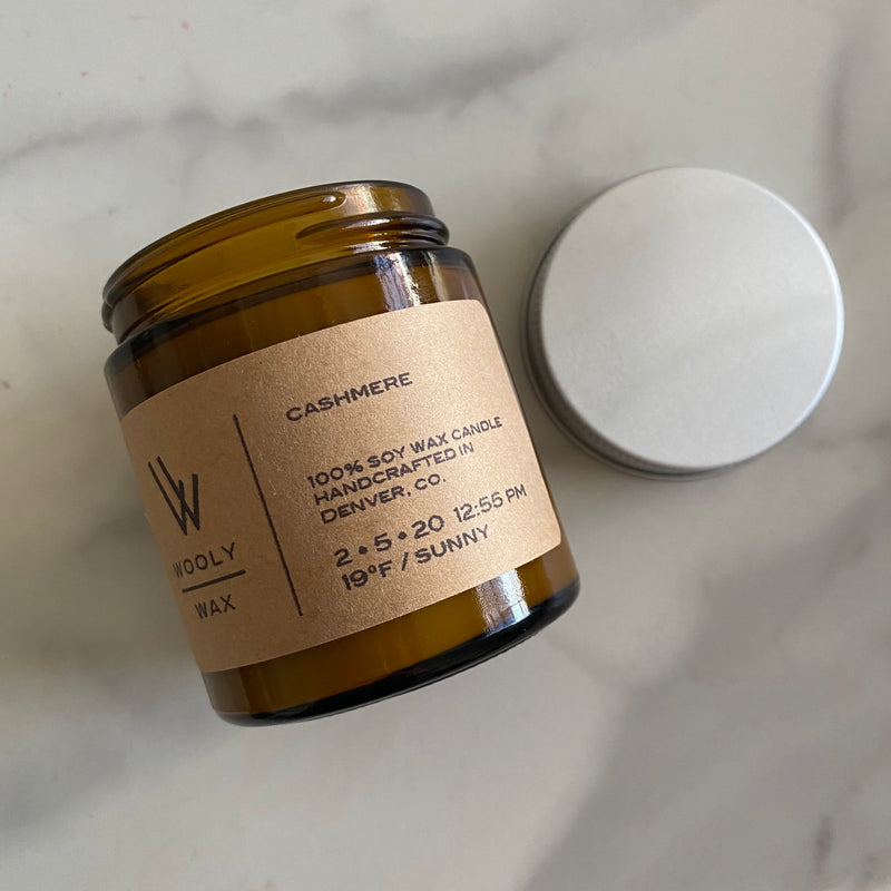 Cashmere Soy Candle