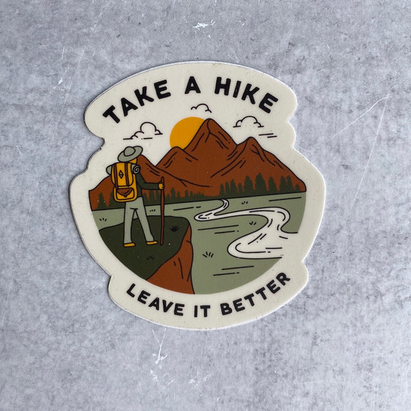 Sticker - Take A Hike