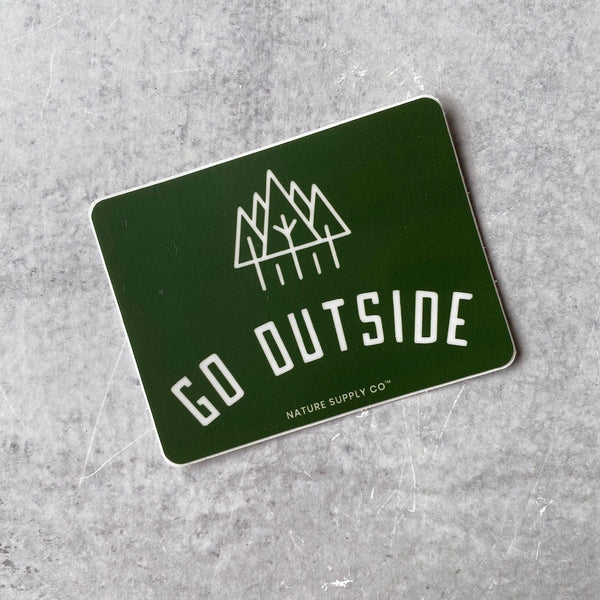 Sticker - Go Outside