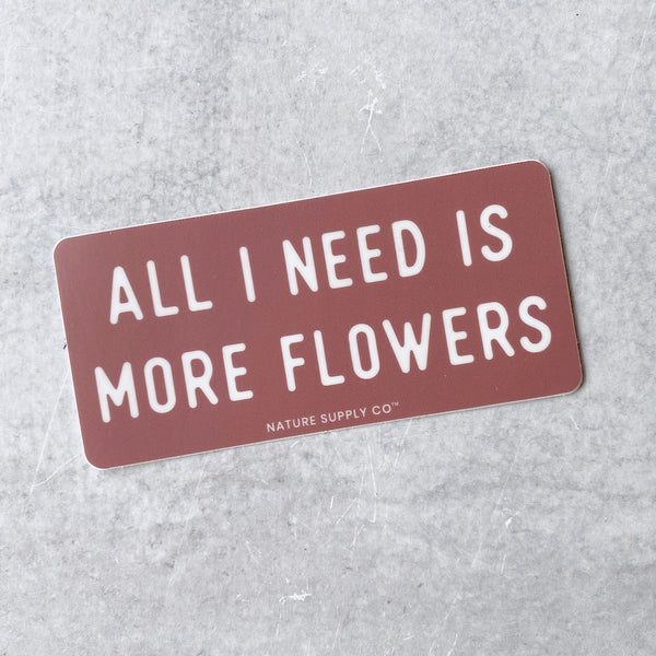 Sticker - More Flowers