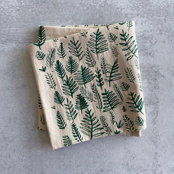 Tea Towel - Ferns
