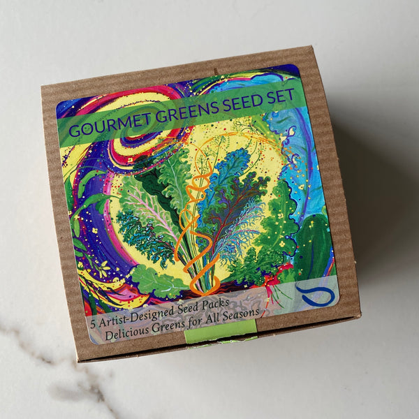 Gourmet Greens Seeds Set