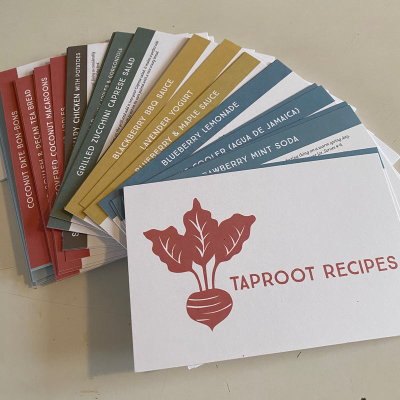 Taproot Recipe Cards