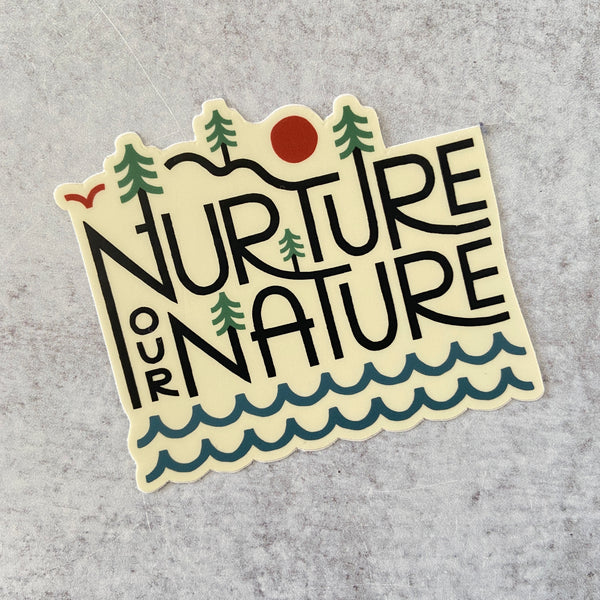 Sticker - Nurture Our Nature