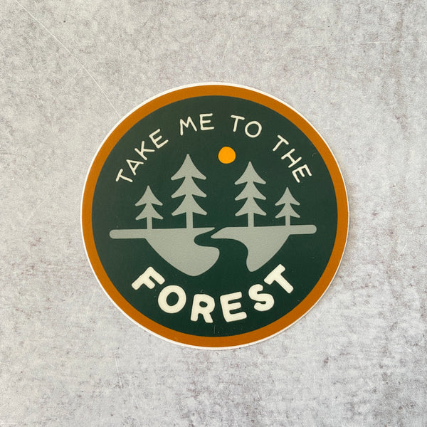 Sticker - To the Forest