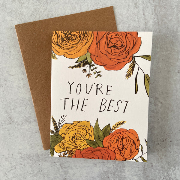 Best Floral Card