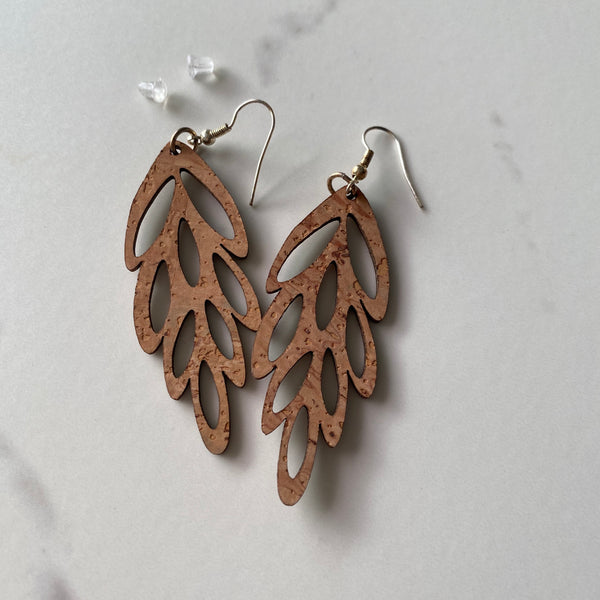 Botanical Cork Earrings