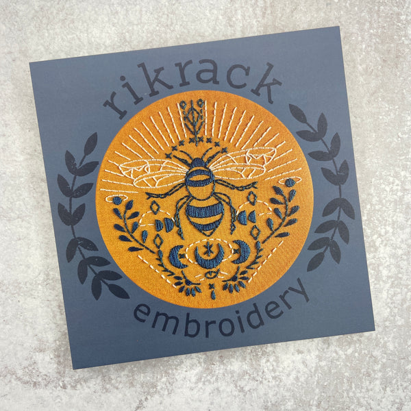 Embroidery Kit: Bee
