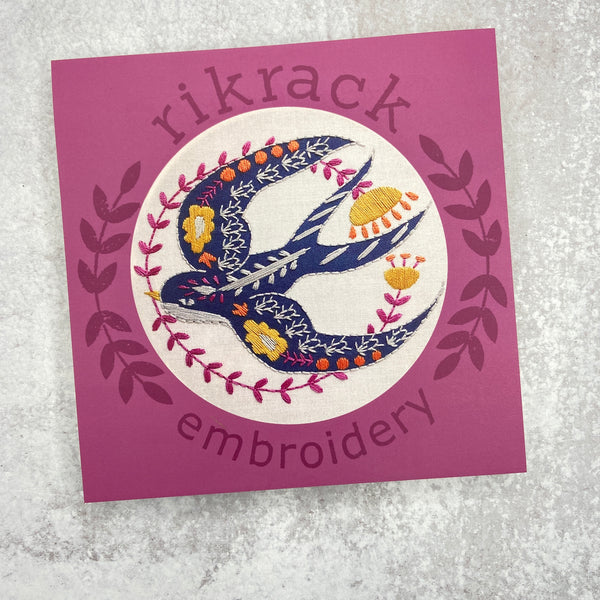 Embroidery Kit: Swallow