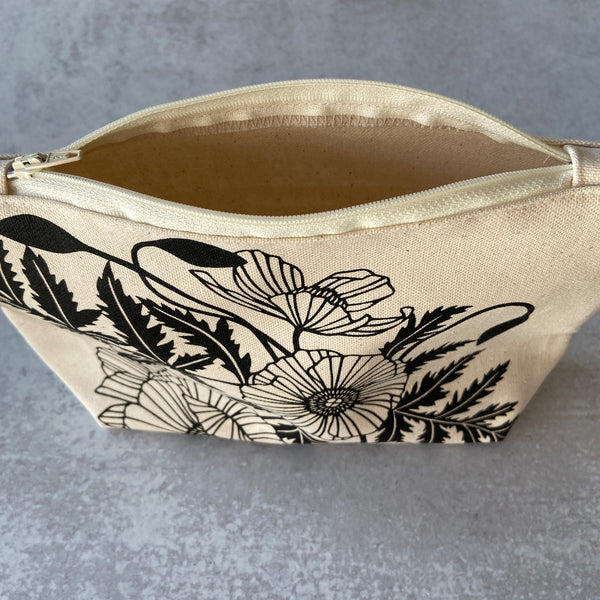 Poppies Cosmetic Pouch