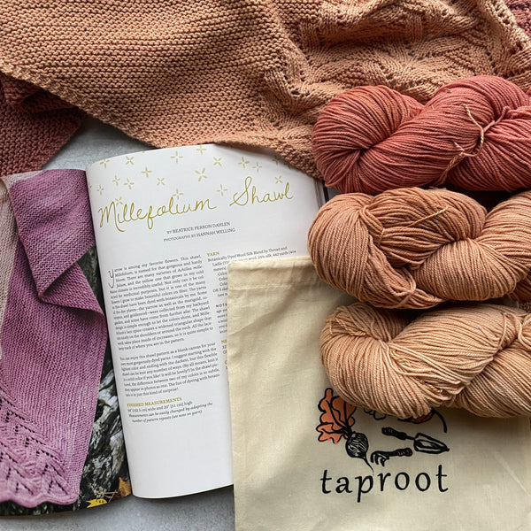 ROOTS Millefolium Shawl Kit