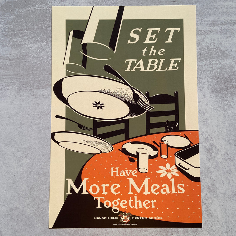 Set The Table - Print