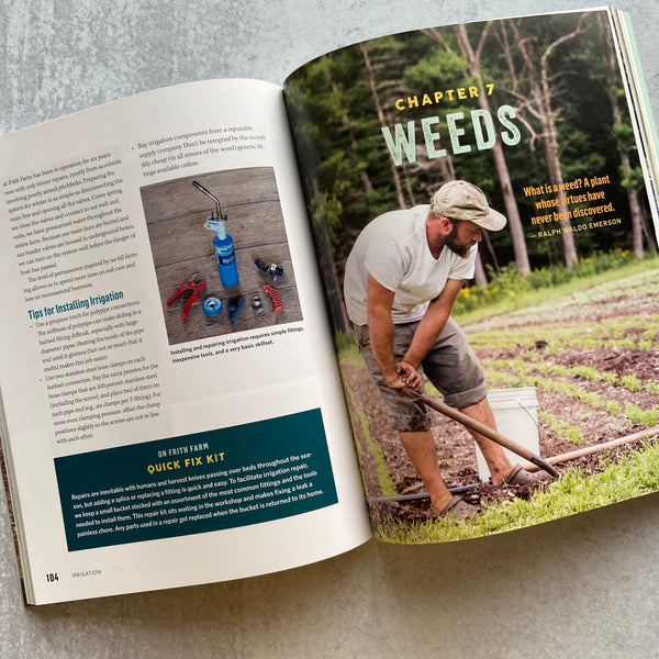 The No-Till Organic Vegetable Farm Book