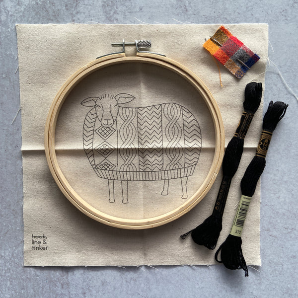 Embroidery Kit - Sweater Weather
