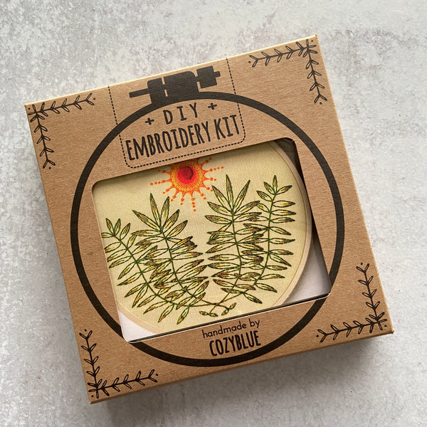 Embroidery Kit: High Noon