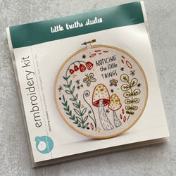 Embroidery Kit: Noticing