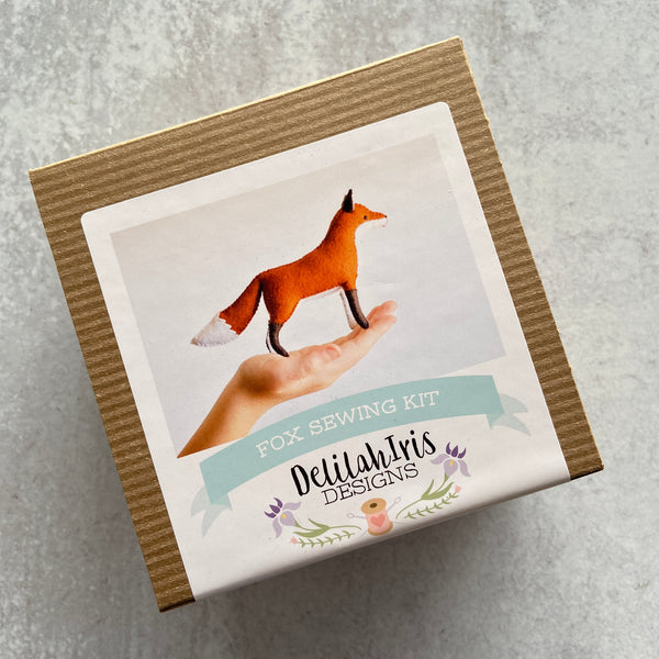 Sewing Kit: Felt Fox