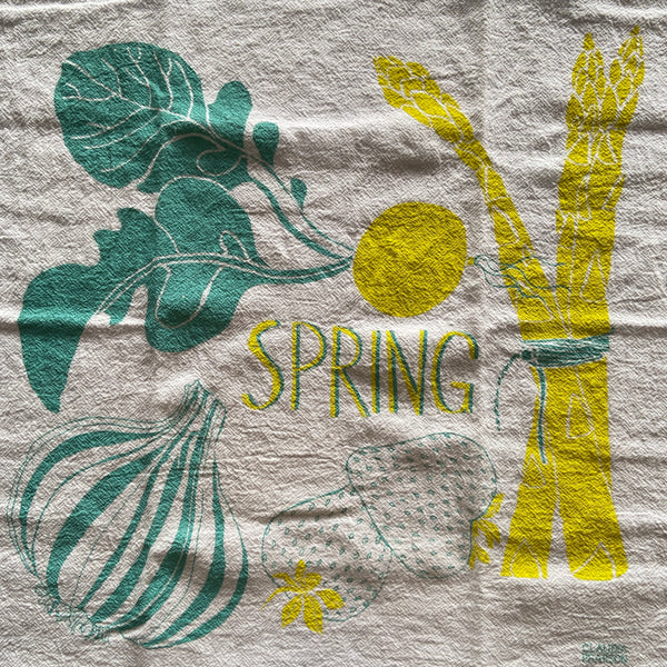 Tea Towel - Spring