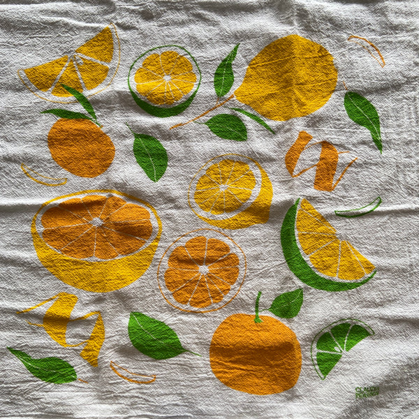 Tea Towel - Citrus