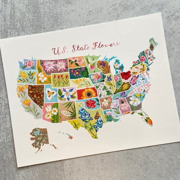 State Flowers - Print (sign up for in stock alert)