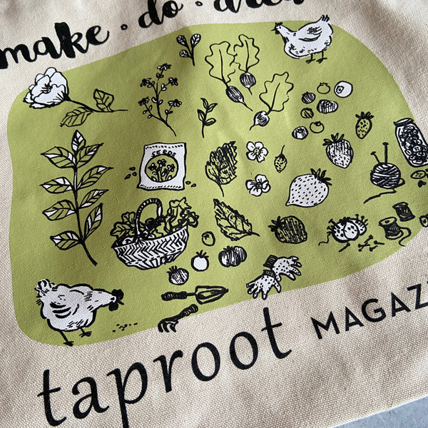 Taproot Market Tote