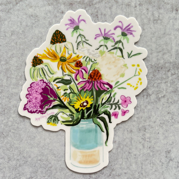 Sticker - Garden Flowers
