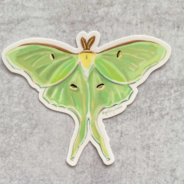 Sticker - Luna Moth