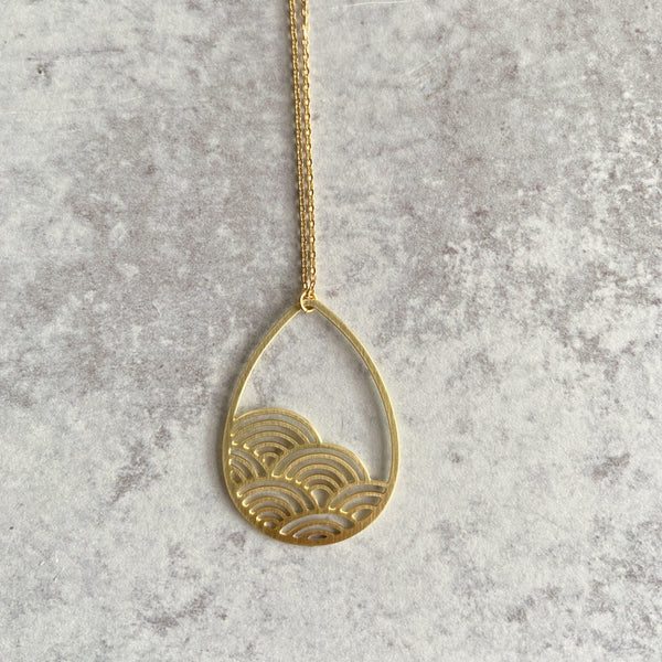Raindrop Cloud Necklace
