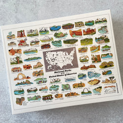 National Parks USA Puzzle