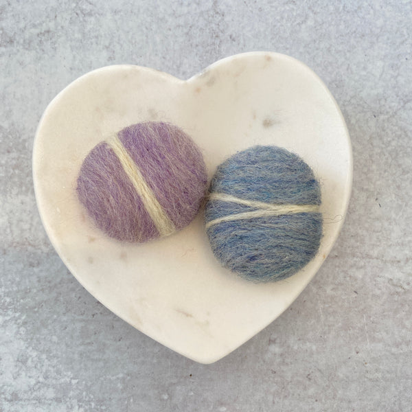 Felted Wool Friendship Stone