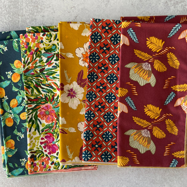 Botanical Cloth Napkins