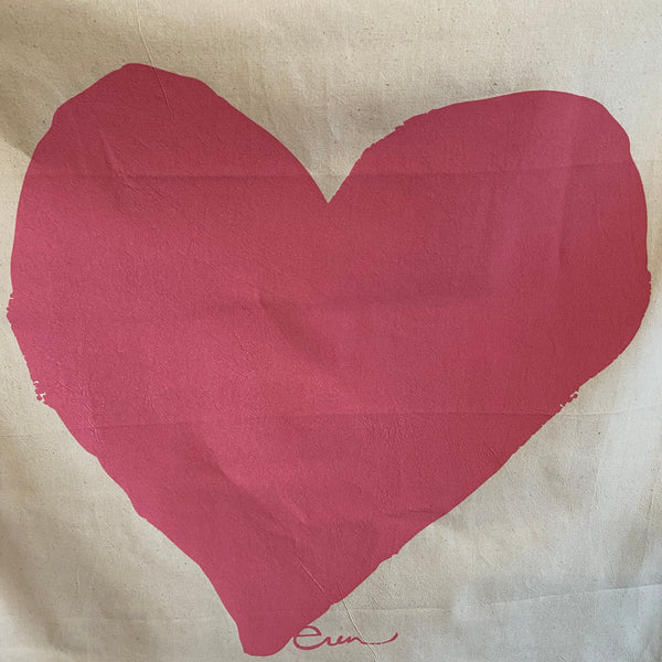 Tea Towel - Big Pink Heart
