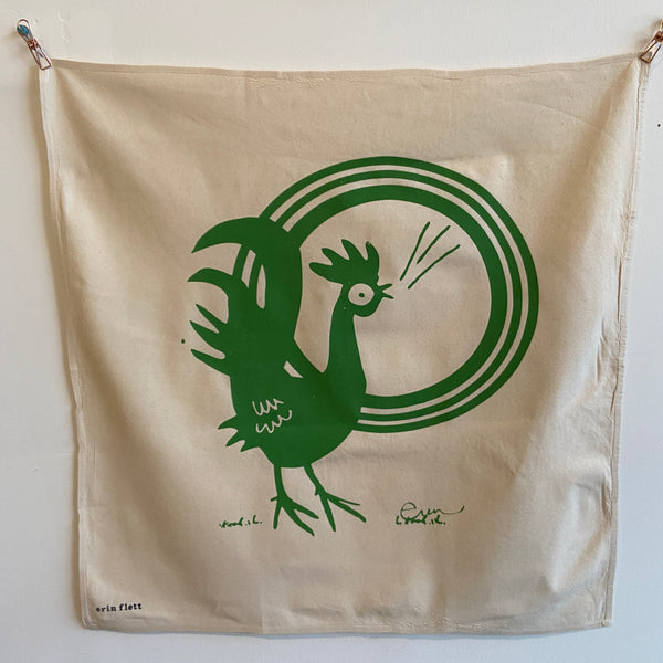 Tea Towel - Rooster