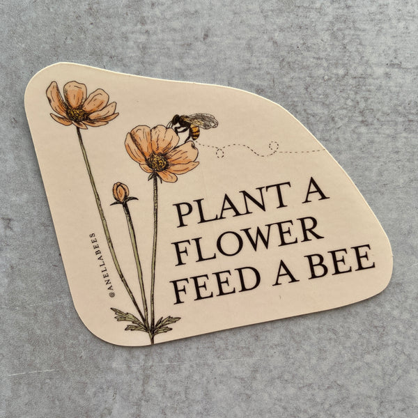 Sticker - Plant a Flower
