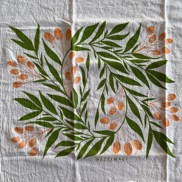 Tea Towel - Tuscan Florals